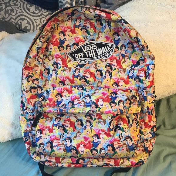 9adab53ccc VANS Disney multi princess backpack. M 5ad3f5a3c9fcdf2a2ccdd976